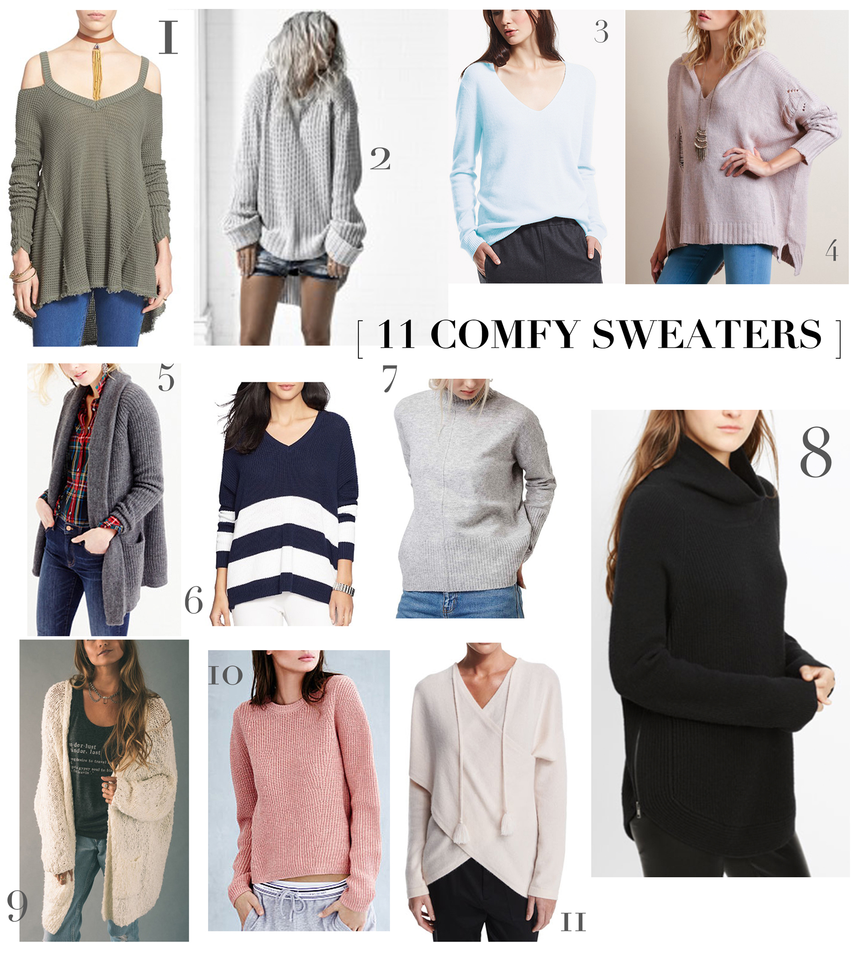 new comfy sweaters