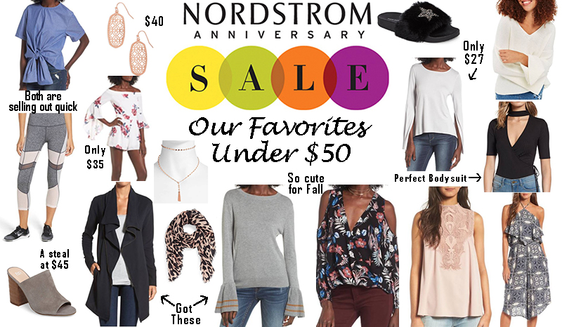 Nordstrom Sale – Our Favorite styles under $50