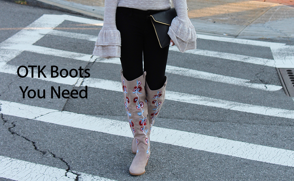 The trend you need now: OTK boots