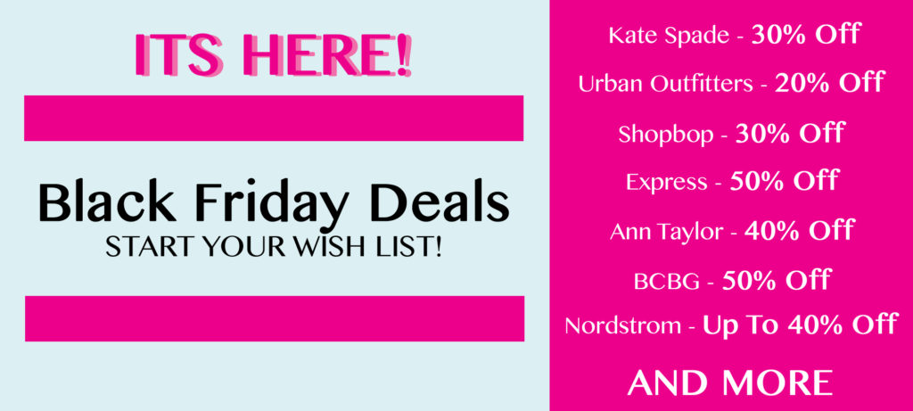 Black Friday Deals to Shop this Year