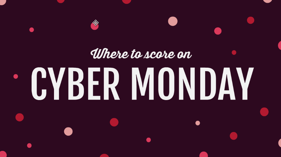Cyber Monday Is Here- Shop Today!