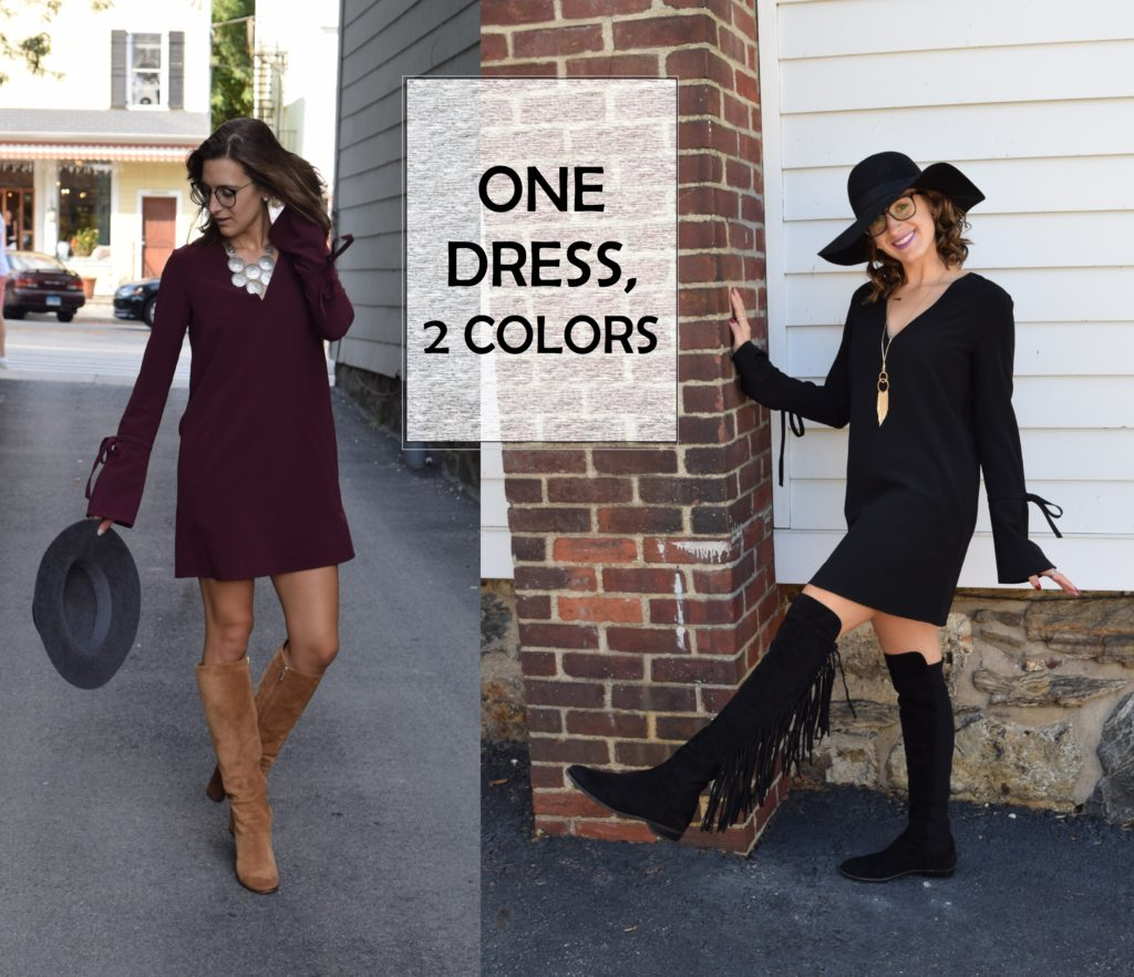 BUY IT IN EVERY COLOR – ONE DRESS, TWO COLORS